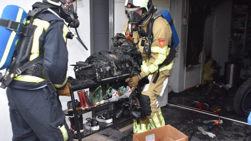 Accu oorzaak garagebrand